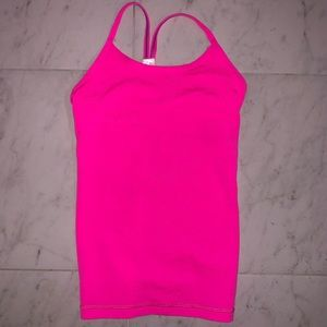 ivivva pink tank top
